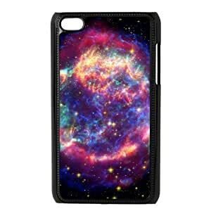 YCHZH Phone case Of Colorful Space Nebula Cover Case For Ipod Touch 4