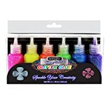 DollarItemDirect BAZIC 20 ml Neon Color Glitter Glue (6/pack), Case Pack of 24