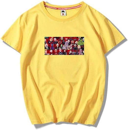 Avengerzzz Hombre superhéroes Avengers:Iron Man Manga Corta Impreso T-Shirt Camiseta Disfraz Traje de Cosplay Vengadores Personajes Gran colección de Dibujos Animados Anime Hip Hop Series @XL: Amazon.es: Ropa y accesorios