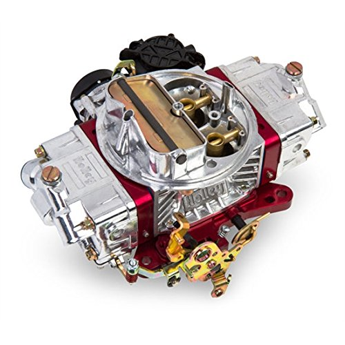 Holley 0-86670RD 670 CFM Ultra Street Avenger Four Barrel Carburetor - Red