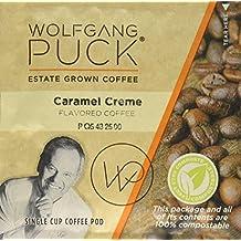 Wolfgang Puck Coffee, Caramel Cream Gram Coffee, 18 Count, 171 g