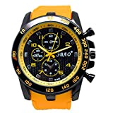 COOKI Men's Analog Sports Watch Military Wrist Quartz Watch Large Dual Dial Digital Outdoor Watches,Mens Watches on Sale Clearance (F)