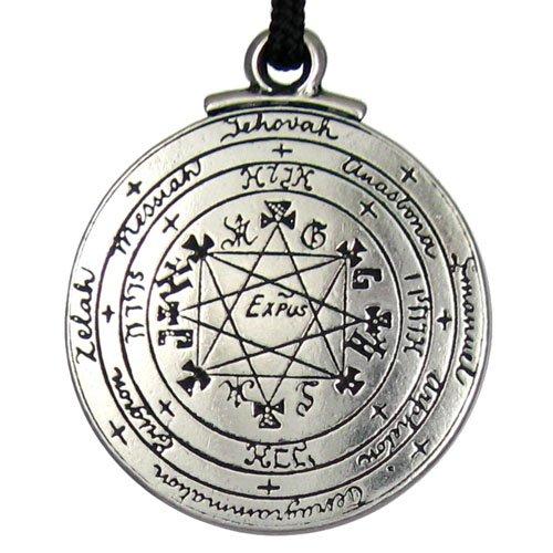 Solomons Seal (Talisman Pentacle of Solomon Seal Pendant Hermetic Enochian Kabbalah Pagan Wiccan Jewelry)