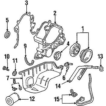 Amazon Com Ford 4f2z 6019 Ba Engine Oil Pump Automotive