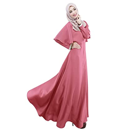 f6f921123491 Image Unavailable. Image not available for. Color: Euone Clearance Sales, Muslim  Women Modest Maxi Dress ...