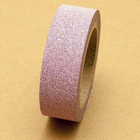Glitter washi tape light pink 5m x 15 cm amazon kitchen home glitter washi tape light pink 5m x 15 cm aloadofball Images