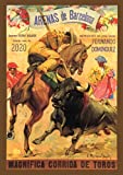 "Pixiluv 2020 Wall Calendar [12 pages 8""x11""] Corrida Spain Bull Show Vintage Travel Poster Ads"