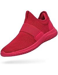 Womens Sneakers Lightweight Breathable Mesh Slip On...