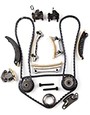 SCITOO Timing Chain Kit fits for 2007-2015 for Cadillac for Buick for Chevrolet for GMC for Saab for Saturn for Suzuki CTS SRX Enclave LaCrosse ATS XTS Camaro Caprice 3.0L 2.8L 3.6L 3.2L 9-0753S