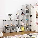 LANGRIA Modular Closet Organizer Plastic