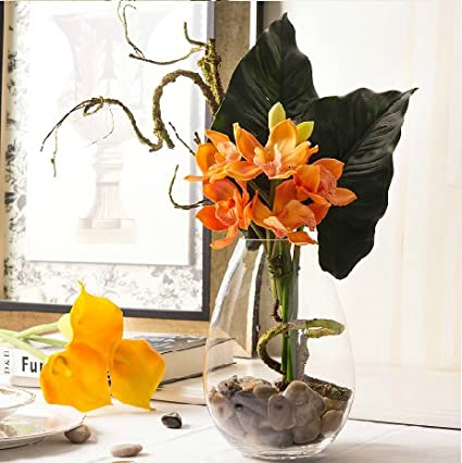 ZHUDJ Limpiar El Casco-Lin Hui, Flor Artificial Fake Paquete De Flores Flores De