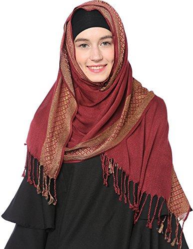 Ababalaya Shimmer Glitter Muslim Islamic