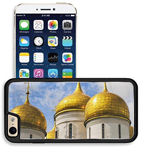 Liili Apple iPhone 6 iPhone 6S Aluminum Backplate Bumper Snap iphone6/6s Case IMAGE ID 36214038 church moscow kremlin russian dome gold russia cross orthodox tower cathedral annunciation travel ()