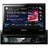 PIONEER AVH-X7800BT 7 Single-DIN In-Dash DVD Receiver with Flip-out Display, Bluetooth(R), Siri(R) Eyes Free, Spotify(R) & AppRadio One(TM)
