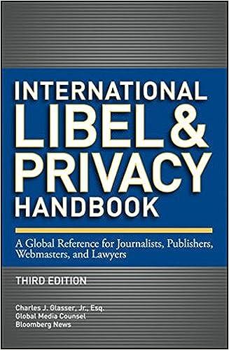 reporters handbook on media law