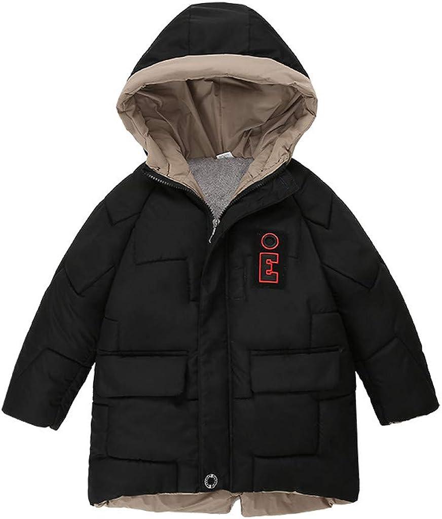Sameno 2019 Kids Baby Winter Snowsuit Cartoon Animal Snow Coat Jacket Down Suit Organic Outfit Boys Girls 1-5 Years Old