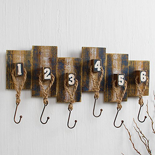 Numbered Weathered Rack by Heart of America