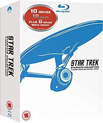 Pack Star Trek Películas 1-10 Remasterizadas Francia Blu-ray: Amazon.es: Shatner, William, Nimoy, Léonard, Wise, Robert, Shatner, William, Nimoy, Léonard: Cine y Series TV