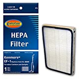 upright canister - EnviroCare Replacement HEPA Vacuum Filter for Kenmore EF-1 for select Canisters and Uprights