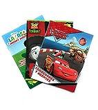 Cars, Toy Story y Mickey Mouse Libros para Colorear (Kit 3-en-1). Tres Libros para Colorear de 16 páginas. Incluye todos los personajes de Cars, Toy Story (¡Edición Especial!) y Mickey Mouse. Estimular Motricidad Fina. Entretenimiento y Aprendizaje Infantil. Kids Coloring Kit, Cars, Toy Story & Mickey Mouse Coloring Books.