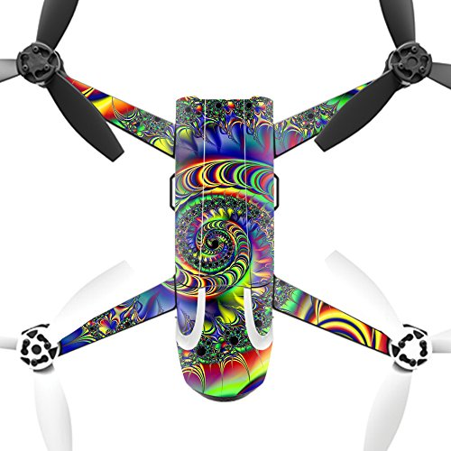 MightySkins Skin for Parrot Bebop 2 - Acid | Protective, Durable, and Unique Vinyl Decal wrap Cover | Easy to Apply, Remove, and Change Styles | Made in The USA