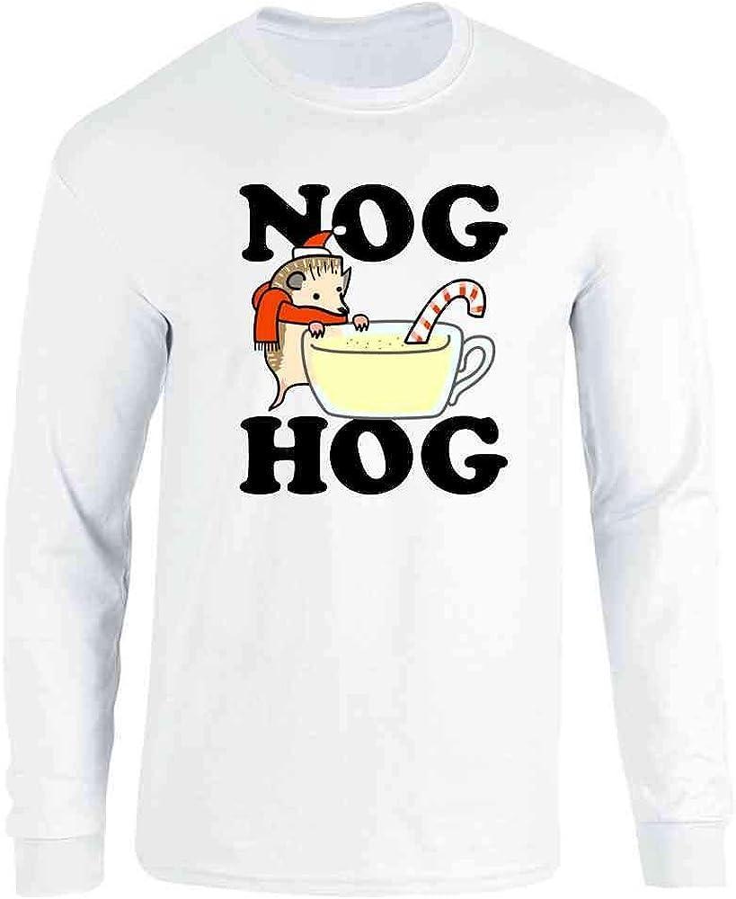 Eggnog Dont Hog The Nog Funny Noel Gift Ugly Christmas Sweater Sweatshirt