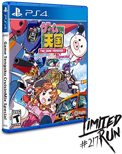 Game Tengoku CruisinMix Special (Limited Run #217) – PlayStation 4