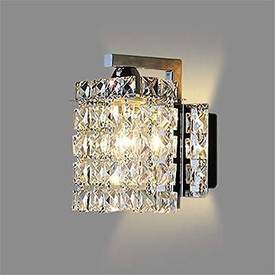 Wall Sconces Led crystal wall lamp Wall lights luminaria home lighting living room modern WALL light lampshade for bathroom