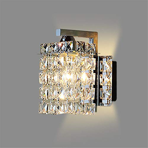 Wall Sconces Led Crystal Wall lamp Wall Lights luminaria Home Lighting Living Room Modern Wall Light lampshade for Bathroom
