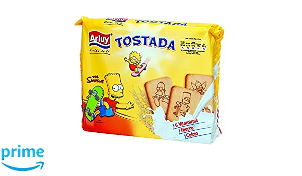 Arluy Galletas Tostada Simpsons - 720 gr: Amazon.es: Alimentación y bebidas
