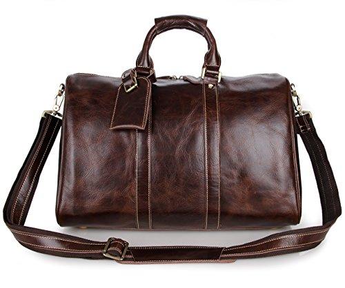 RTZLL Europäische und amerikanische Vintage Herren Leder Tasche fallen Korn Tasche Handgepäck Taschen Reisetaschen