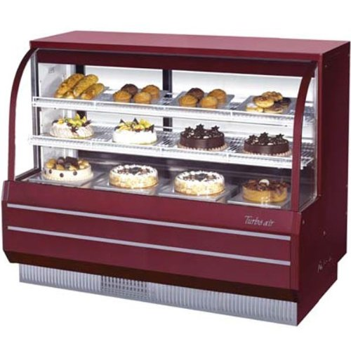 (Turbo Air TCGB-60-CO Curved Glass Bakery Display Case)