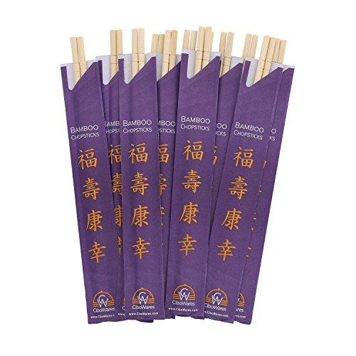 CiboWares 9'' Disposable Bamboo Chopsticks, Case of 1,000 by CiboWares (Image #5)