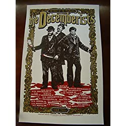 The Decemberists Music Poster Decemberists Fall Tour 06 King