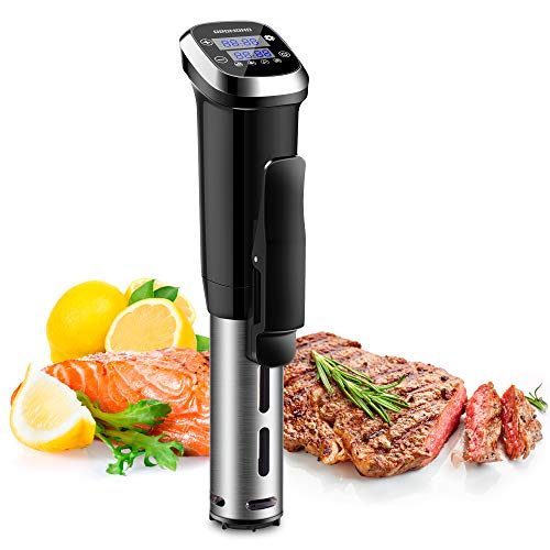 REDMOND Sous Vide Machine, Accurate Immersion Circulator Cooker 1000W, Ultra Quiet, Stainless Steel Precise cooker, IPX7…