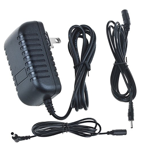 Digipartspower (12' / 12 Feet Extra Long Cable) AC/DC Adapter for Qwest Actiontec DSL Modem GT784WN-01 GT784WNV GT724-WG Router Power Supply Cord Cable PS Wall Home Charger (Thinkpad Ibm Modem)