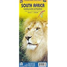 South Africa (including Lesotho and Swaziland) 1:1.5M Travel Map (International Travel Maps) by ITM Canada (2012-10-31)