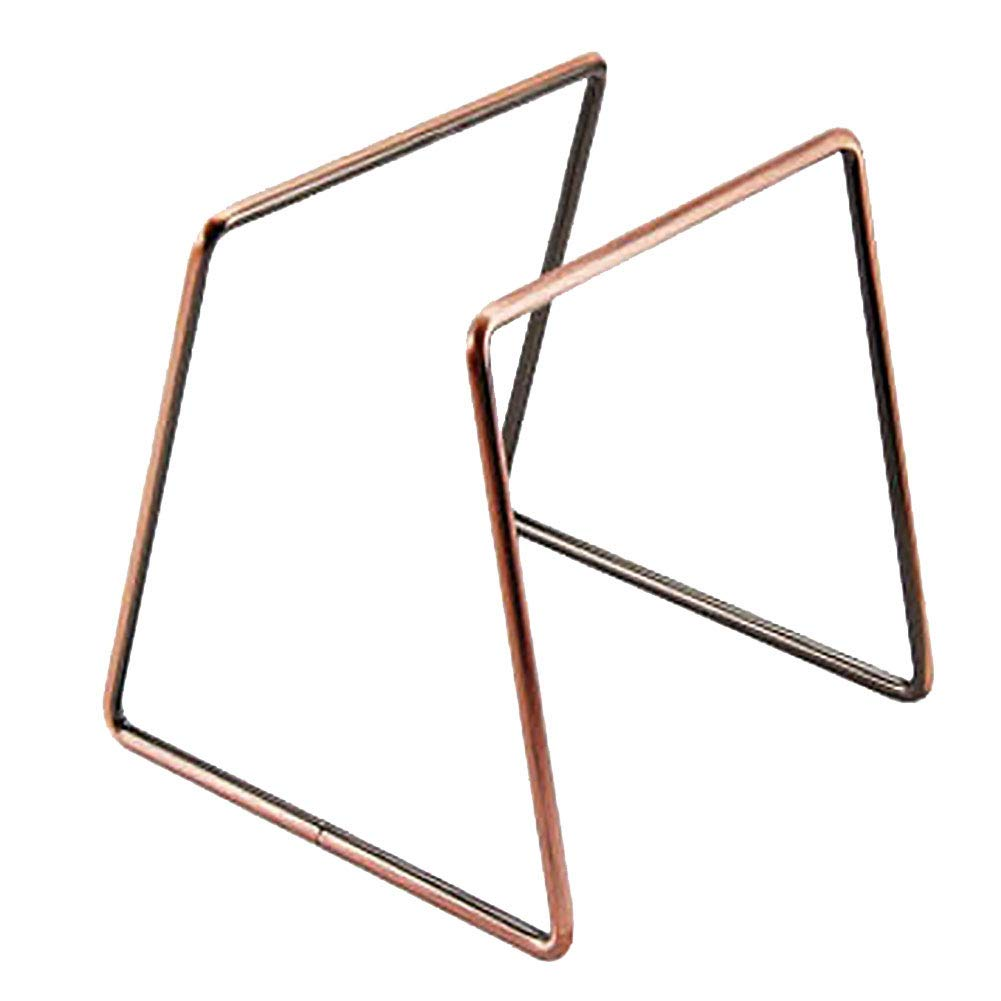 Reusable Pour Over Coffee Filter Stand, Coffee Dripper Geometric, Metal Permanent Coffee Dripper for Coffee Marker(Bronze)