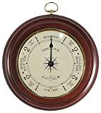"""9"""" Tide Clock with Glass Convex Lens by West and Company"""