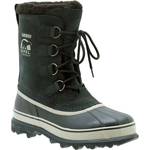 Sorel Mens Caribou Nm1000 Boot Black Tusk 12 M