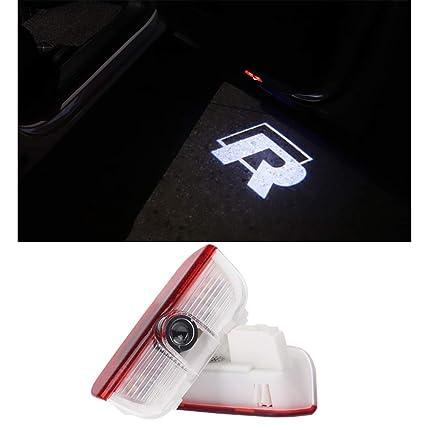 Símbolo LED Luz de bienvenida Logo de la puerta Lámpara del ...