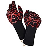 #5: Bruella™ Heat Resistant Gloves ✪ Great For Oven Baking & Cooking In The Kitchen | A+ Military Grade Kevlar - EXTRA Length Forearm Protection - ✱LIFETIME WARRANTY✱