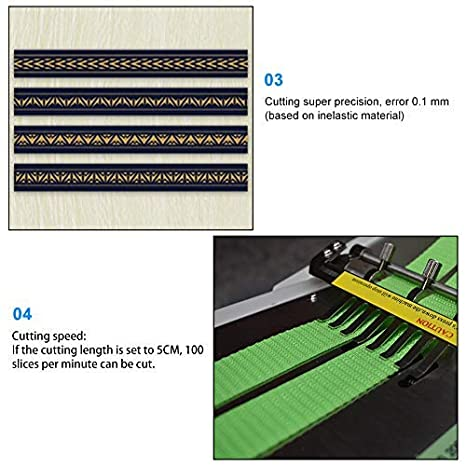 Amazon.com: Bespick XL-988S - Máquina de cortar de cuero ...