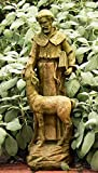 Orlandi St. Francis with Deer Garden Statue 20″H Review