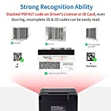 2D Barcode Scanner Omnidirectional Hands-Free