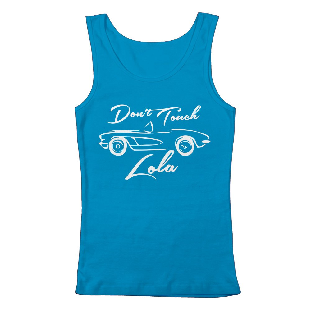 GEEK TEEZ Dont Touch Lola Womens Tank Top