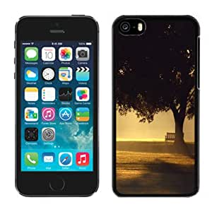 NEW DIY Unique Designed iPhone 5C Generation Phone Case For Big Tree Silhouette Phone Case Cover
