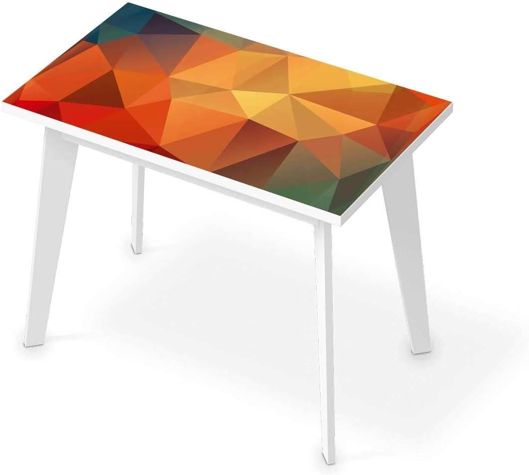 Tischfolie, selbstklebend, Tisch 200x100 cm, Design Polygon