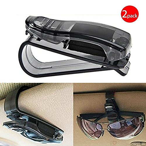 Black Friday Deals Week Auto Car Sun Car Visor Glasses Sunglasses Ticket Clip Holder Eyeglasses Clip Car Holder Cash Money Card Holder(One Package Two - Sunglasses Friday