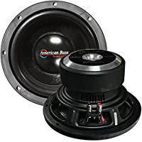 American Bass 10 Wooofer 900W Max Dvc 4Ohm 150Oz Magnet by American Bass